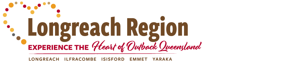 Longreach Region Tourist Information logo